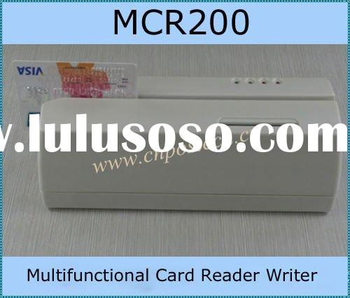 Multifunctional magnetic EMV smart IC stripe card Reader and writer