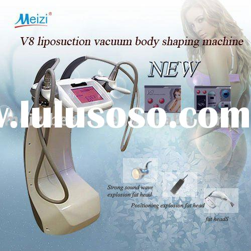 NEWEST V8 vacuum RF roller cavitation beauty equipment