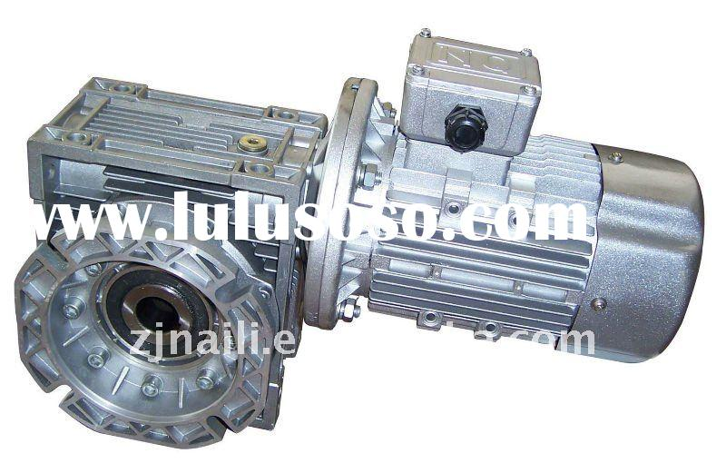 NMRV Series Worm Gear Speed Reducer with Electric Motor