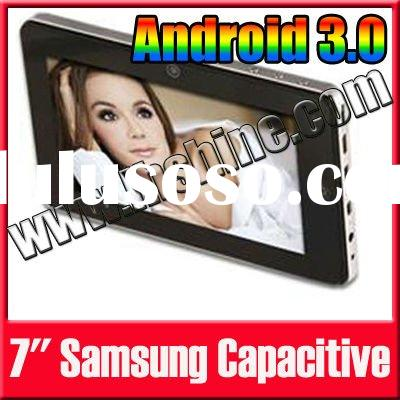 New Android 3.0 Tab PC 7 Inch Touch Screen WIFI Camera S5PV210 Samsun Tablet