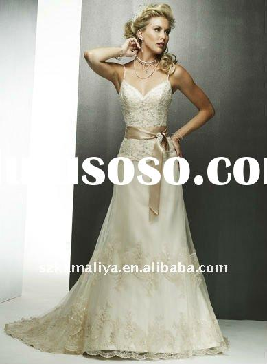 New Fashion Beaded Strapless Evening Dress