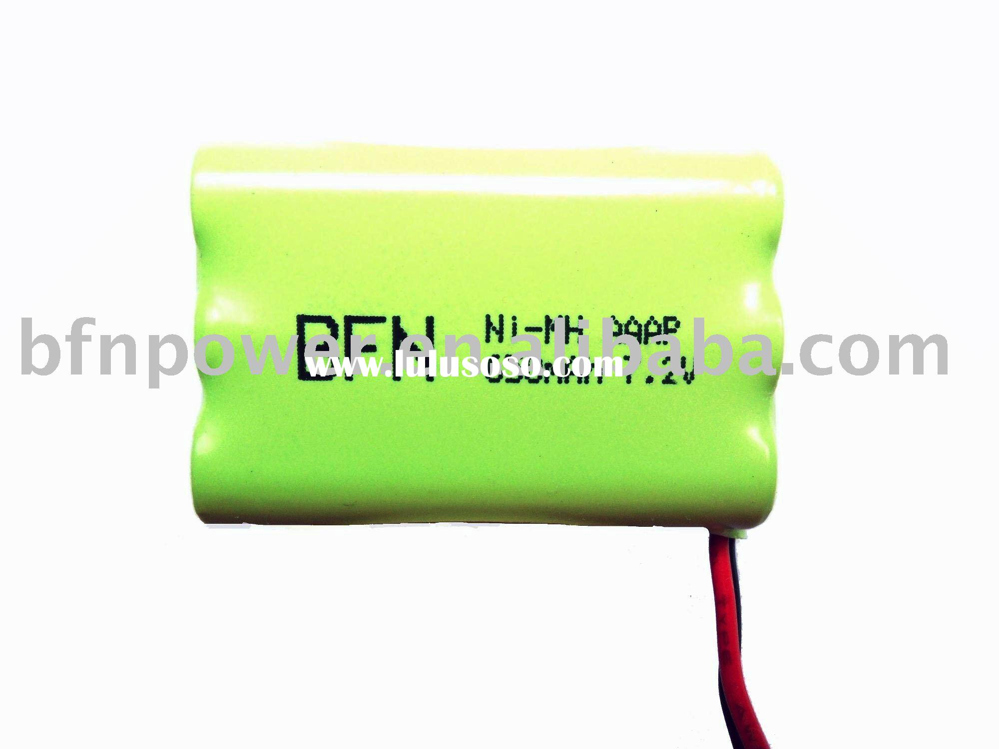 NiMH High Power Rechargeable Battery Pack(650mAh AAAP 7.2V)