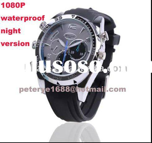 Night Vision 8G Real 1080p Waterproof hidden Watch Camera avp902R