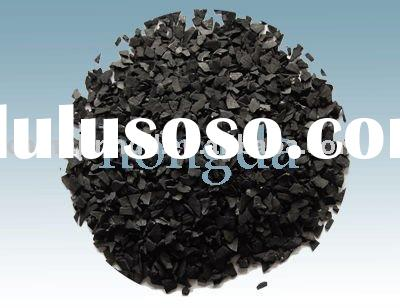 Nut shell activated carbon as the water filter media