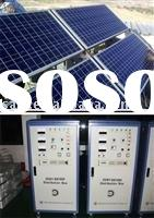 Off-grid home solar power system