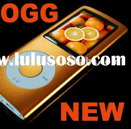 Orange Cheap 4TH mp3 mp4 OGG Portable Digital Media Audio multimedia electronic player fm radio TFT