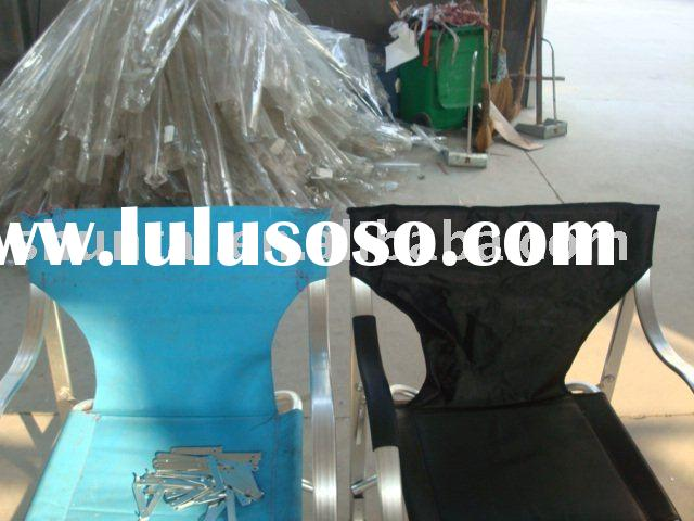 Oversized Aluminum Director chair with cooler bag
