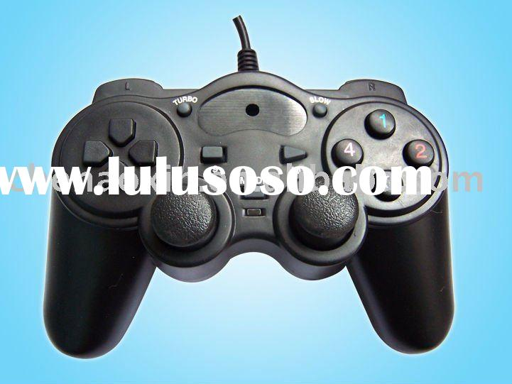 PC USB/ Video Games Double Vibration Joypad /computer game controller /gamepad/joystick