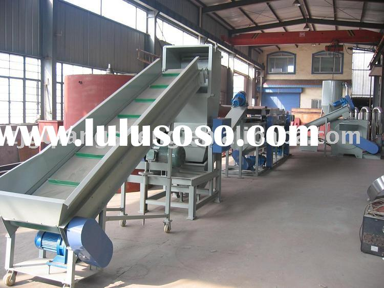 PET Bottle Flakes Recycling and Washing Equipment