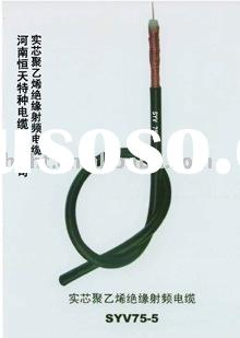 PE INSULATED RF COAXIAL CABLES