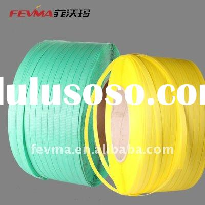 PP packing strap,100% new material PP Strapping//Green plastic packing strip/straps supplier