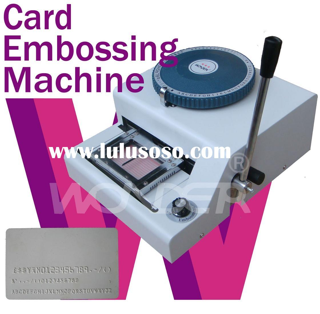 Plastic Card Embossing,Credit Card Embossing Machine PayPal