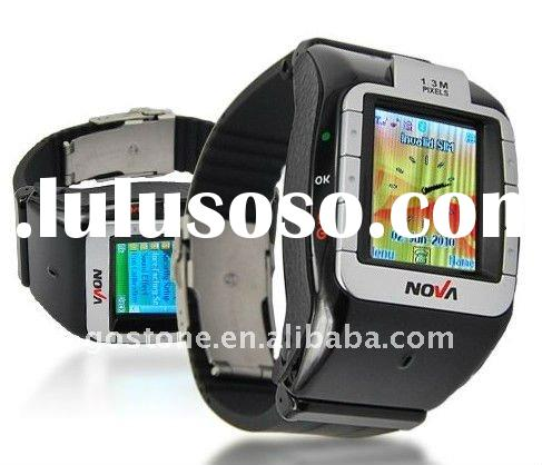 Popular Tri-Band Watch Cell Phone N800+ Watch Mobile Phone