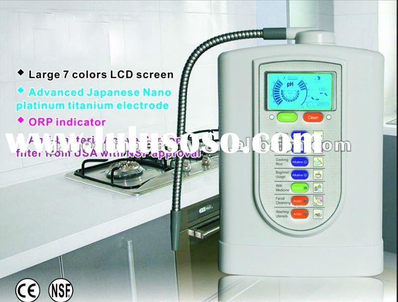 Portable alkaline water Ionizer (CE approval)