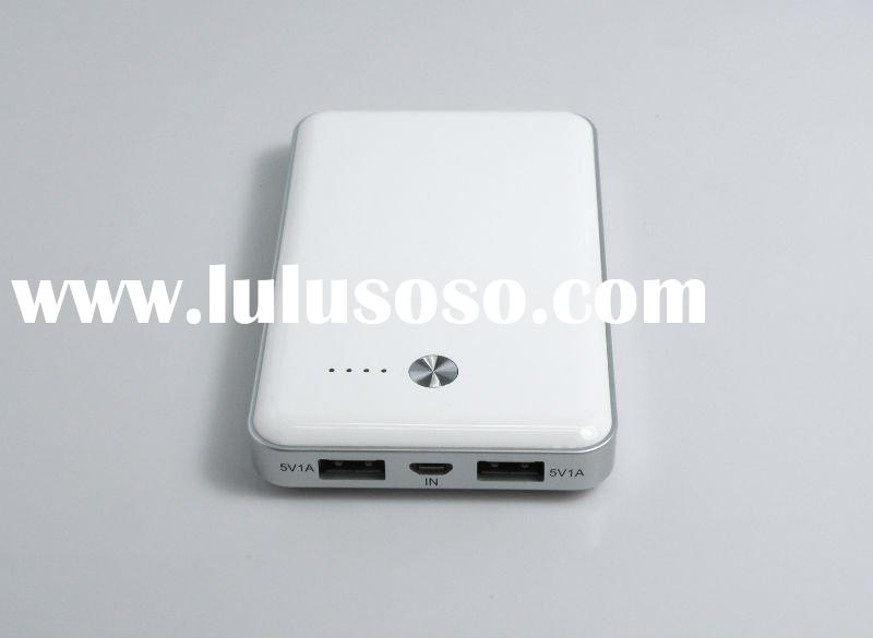Portable power supply for iPad, iPhone and other brand cell phone/7000mah
