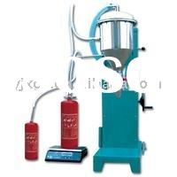 Powder recycles fire extinguisher powder refilling equipment /Powder filling machine (Pollution-free
