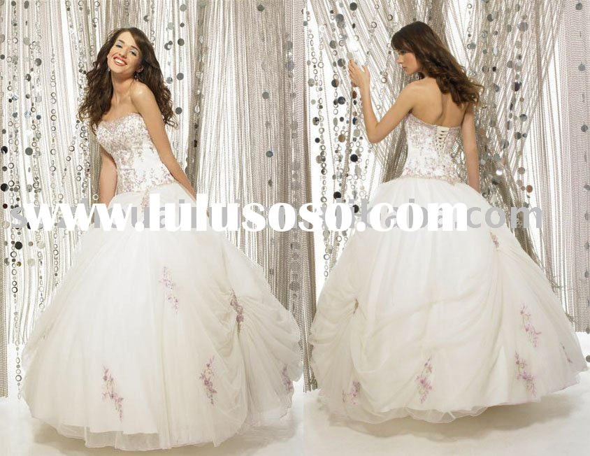 Q0090 Elegant Quinceanera Dress Ball Gowns 2011 new style
