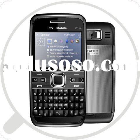 QWERTY keyboard mobile dual sim cards and dual standby tv E72