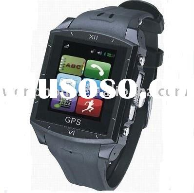 Quadband GSM G9 GPS Watch Phone with bluetooth