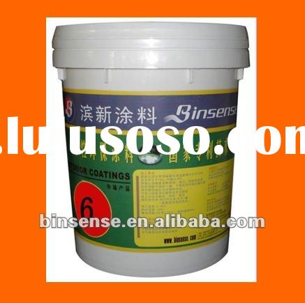 Quality certificate water based exterior wall paint