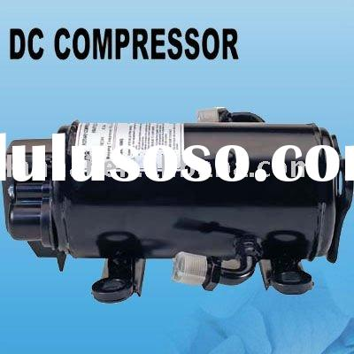 R134A DC compressor for truck tractor excavator Construction Machinery electric car air conditioner