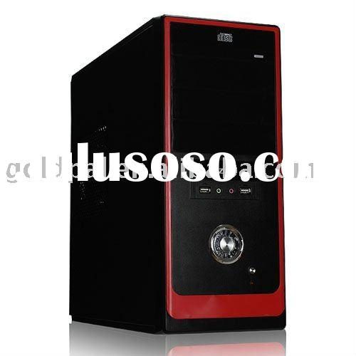 Red color computer case
