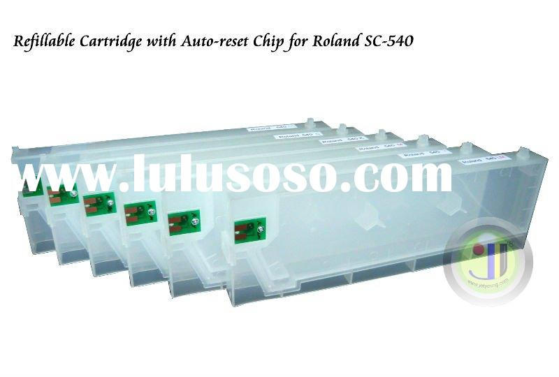 Refillable Cartridge For Roland SC-540 SC-500 SC545EX with Auto-Reset Chip -220ml