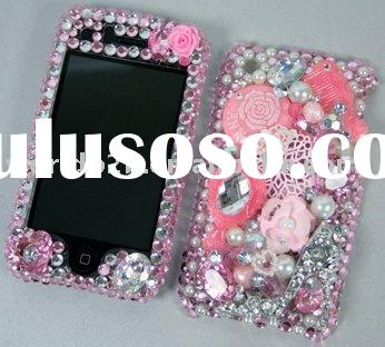 RhineStone Diamond Crystal bling case for iphone(Fashion)