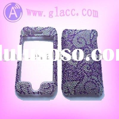Rhinestone Bling hard cover case For Apple Iphone 3G