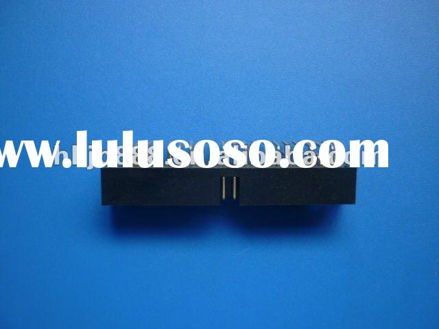 Right angle pcb mount connector female header