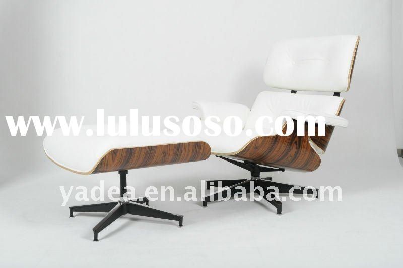 Rosewood Charles and Ray Eames lounge chair