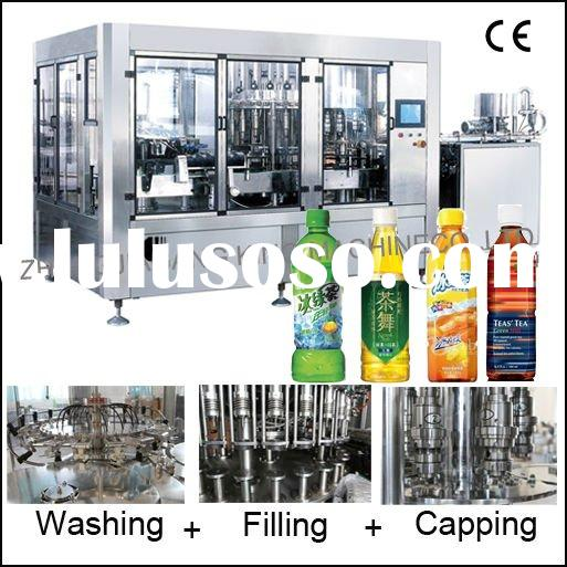 Rotary Type Filling Machine Juice / Water /Carbonated beverage