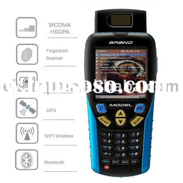 Rugged Mobile Computer with Fingerprint Identification,Barcode scanner,RFID reader (EK6000)