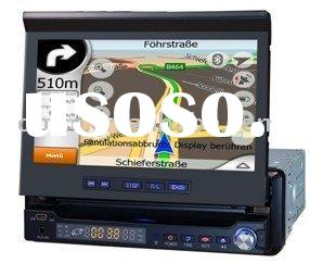 SJ-765: Shenzhen 1 DIN 7 inch Car GPS DVD Player TV/FM /Amp/USB/SD/Bluetooth