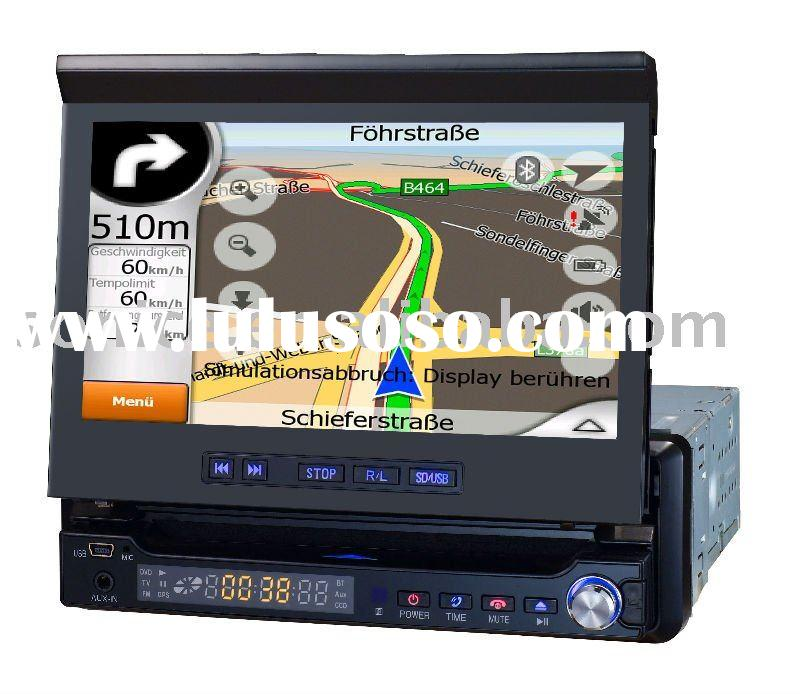 SJ-765 Shenzhen 7 inch 1 DIN Car DVD GPS TV/FM /Amp/USB/SD/Bluetooth