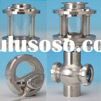 SS304 SS316L Stainless Steel Sanitary Welding Sight Glass