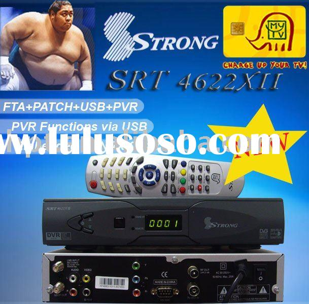 STRONG SRT 4622xII Digital Satellite Receiver to middle east