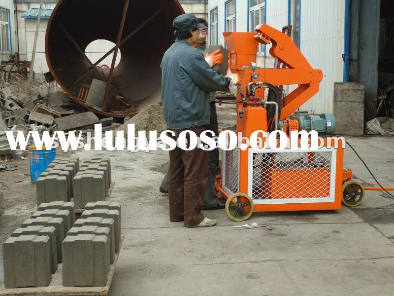 SY1-20 Hot selling Hydraulic Interlocking Block Making Machines concrete block making machine