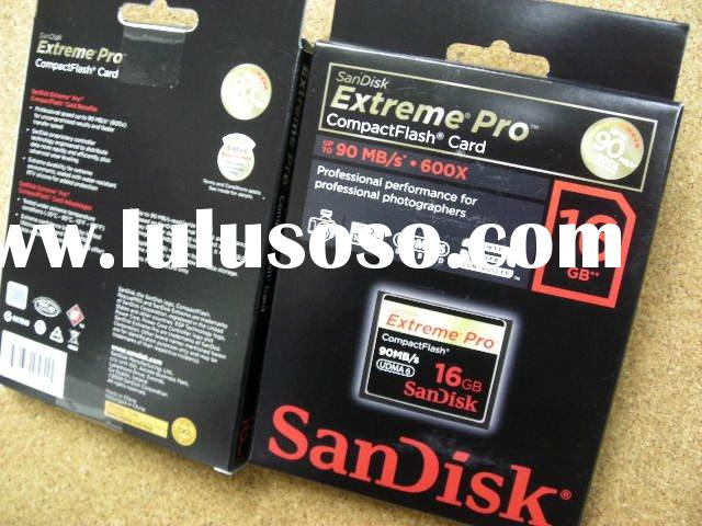 Sandisk Extreme PRO 16GB compact Flash memory card 90MB