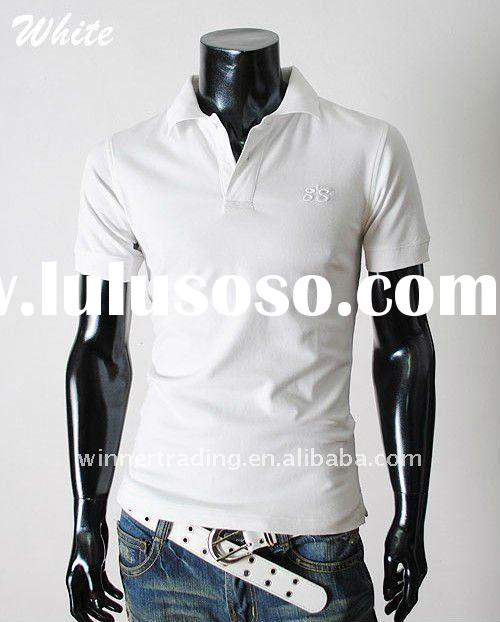 Short sleeves polo T-shirt with printing