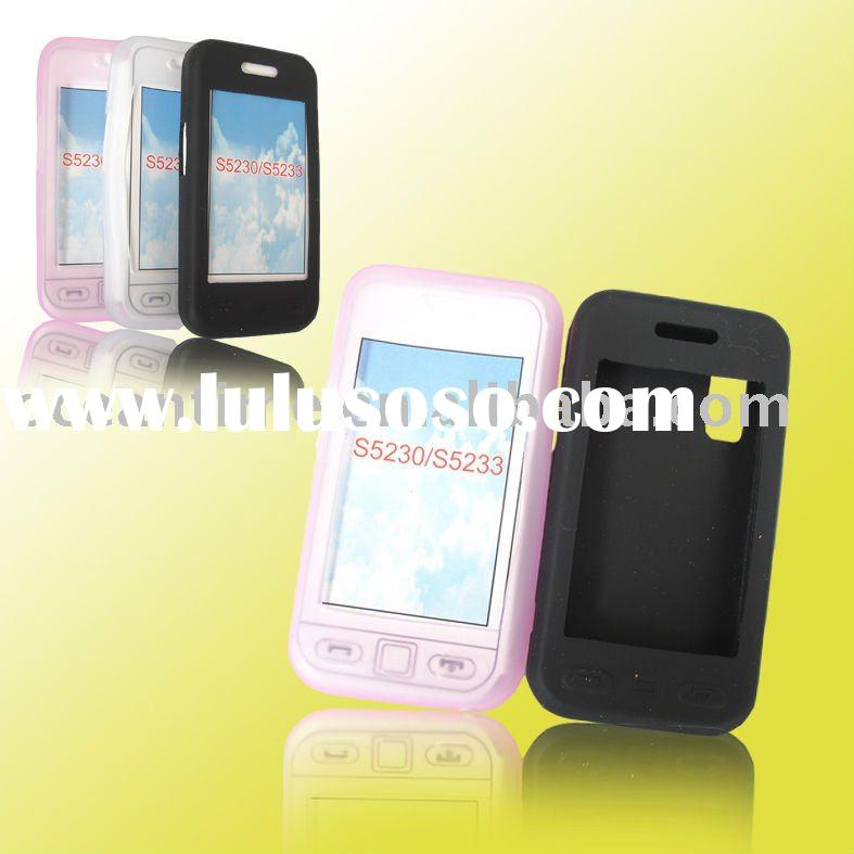 Silicone Mobile Phone Case and mobile phone cover for Samsung S5230/S5233