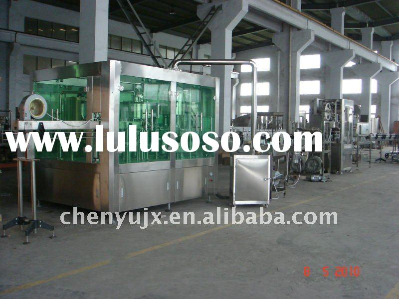 Small Bottle Mineral Water Filling Line