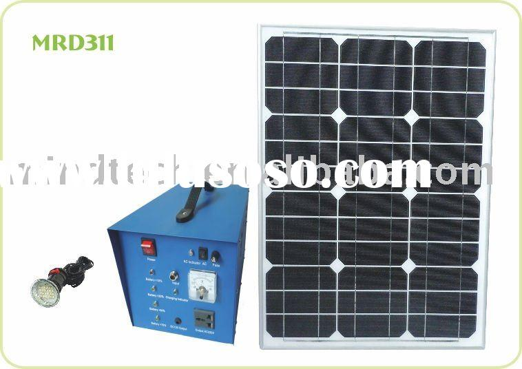 Solar system (with UPS Function ,it can connect to solar power automatically,when supply electricity