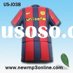 Sport Shirt Shape USB Pen Clothes Shape USB Pen Drive 1GB/2GB/4GB/8GB OEM Promotion Gift