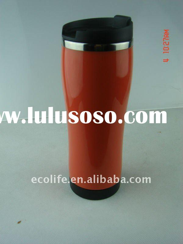 Stainless Steel Double Walled Auto Mug/stainless steel coffee mug/stainless steel beer mug
