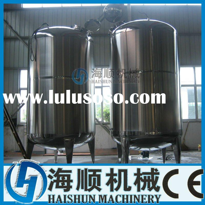 Stainless steel 10T Vertical Storage tank with CE