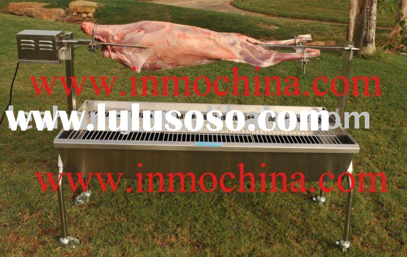 Stainless steel BBQ spit