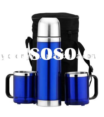 Stainless steel Promotion& vacuum flask gift sets