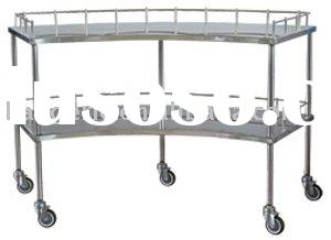 Stainless steel medical instruments trolley (surgical trolley)