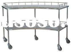 Stainless steel surgical instruments table